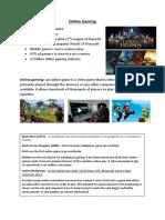 online gaming   minecraft