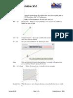 CDOT Mouse Clicks in MicroStation XM