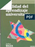 Biggs (2006) Calidad Del Aprendizaje Universitario_Capítulo 2