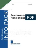 PAS EIP Mansionization