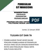 PEMBEKALAN MAGANG MAHASISWA