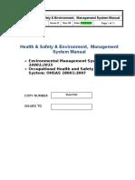 Sample Hse Manual Issue b Rev1
