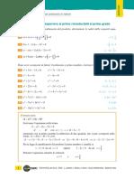 Equazioni Grado Sup Al Primo