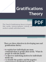Uses & Gratifications Theory
