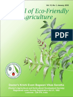 Journal of Eco-friendly Agriculture