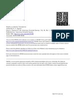 Speiser, Studies in Semitic Formatives