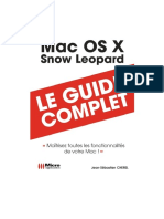 Le Guide Complet - Mac Os X Snow Leopard - Micro Application
