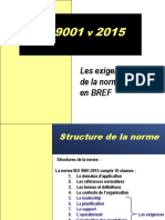 Survol Des Exigences ISO 9001 v 2015