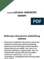 4. Zdravstveno statistički sistem.ppt