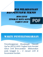 Juknis MTQ 2018