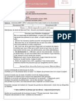 Grammaire Sequence 1 Phrase Et Ponctuation