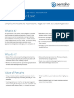 Pentaho Data Lake-1
