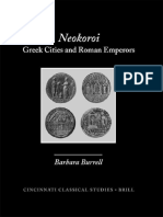 (Cincinnati Classical Studies New Series) Barbara Burrell-Neokoroi_ Greek Cities and Roman Emperors-Brill Academic Publishers (2004).pdf