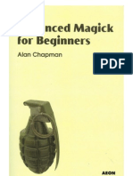 Advanced Magick for Beginners - Alan Chapman