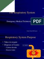 Emt Respiratory System