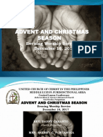 Christmas Evening Worship Ppt