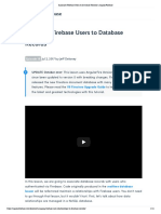 Associate Firebase Users to Database Records _ AngularFirebase