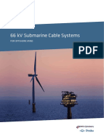 66 KV Submarine Cable Systems for Offshore Wind