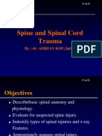 CHAPTER 07 - Spine & Spinal Cord Trauma