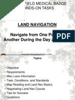 EFMB Land Navigation