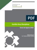 Cartilla Sociologa 2018