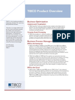 Tibco Product Overview Tcm8 11690