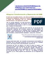 Milagrosa Transformación y Reparación del ADN.doc