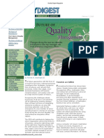 Quality Digest Magazine