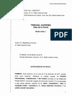 La Interlocutòria del Suprem que rebutja l'alliberament de Jordi Sànchez