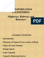 Highways, Lecture No. 1