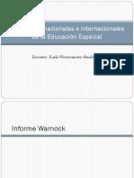 Normativas Nacionales e Internacionales de La Educación Especial