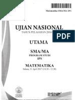 UN Matematika IPS 2017 Bimbingan Alumni UI