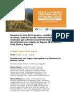 33° CONGRESO PANAMERICANO DE OFTALMOLOGIA LIMA PERU 2017