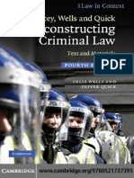WELLS, Celia. QUICK, Oliver. RECONSTRUCTING CRIMINAL LAW. Text and Materials. 4º Ed. Cambridge Univeristy Press..pdf