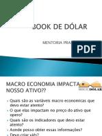 Oficial Book de Dólar Apresentação Slides Mentoria
