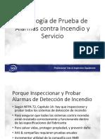 SDI Fire Prueba e Inspeccion 2017
