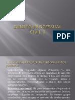 Desonsideração Da Personalidade Jurídica CPC-73