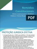 Aula Remedios Constitucionais