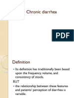 Chronic Diarrhea and Malabsorption Syndromes