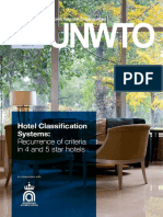 Hotel Classification Systems Recurrence of Criteria in 4 and 5 Star Hotels 0