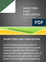 Short-term Load Forecasting