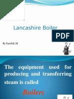 Lanchshire Boiler Ppt