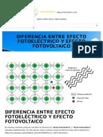 Diferencia Entre Efecto Fotoelectrico y Efecto Fotovoltaico - HelioEsfera
