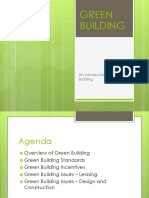 Introduction to Green Building 20jan18