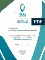 Certificado Jovem Aprendiz 2016