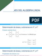 5.1 Aplicaciones Del Algebra Lineal-Areas y Volumenes