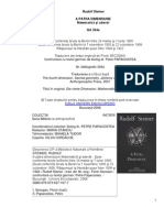 Rudolf Steiner - A Patra Dimensiune - a Si Adevar