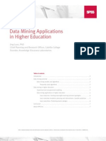 Data Mining in Higher Education