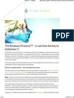 The Bredesen Protocol™ - Is nutrition the key to Alzheimer's_ - Cytoplan