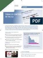 Tobacco Control in the EU
